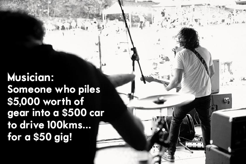 Musician $$ quote